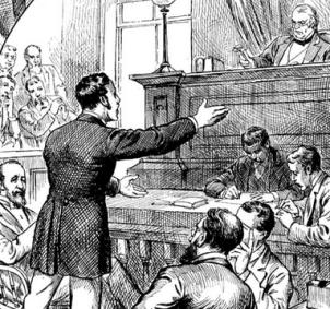 Victorian trial